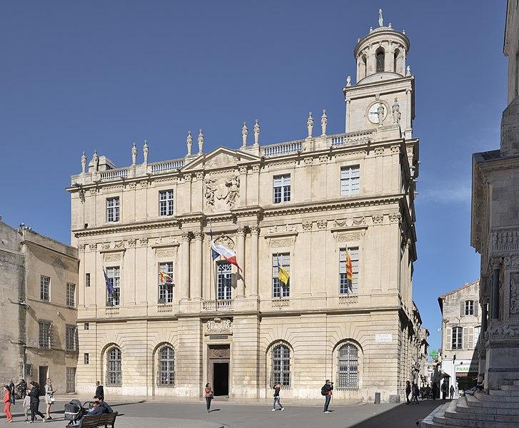 Photo du Monument Historique Hôtel de ville situé à Arles