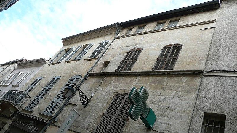 Photo du Monument Historique Immeubles situé à Arles