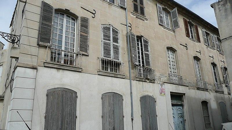 Photo du Monument Historique Hôtel particulier de Giraud ou Immeuble Capitani situé à Arles