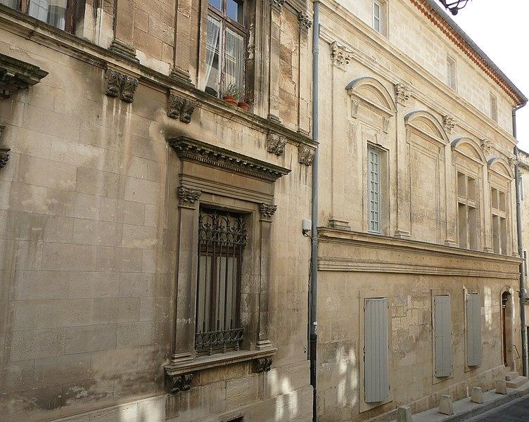 Photo du Monument Historique Maison du 16s situé à Arles
