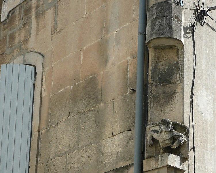 Photo du Monument Historique Maison situé à Arles