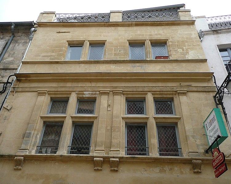 Photo du Monument Historique Maison du 16s. situé à Arles