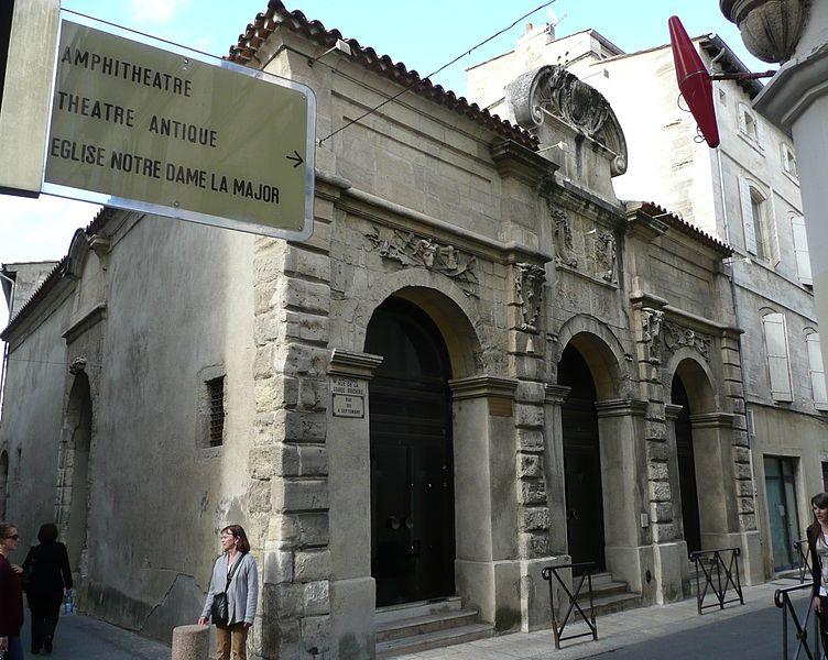 Photo du Monument Historique Marché de la Boucherie  , dit Grande Boucherie ou Salle Dedieu situé à Arles