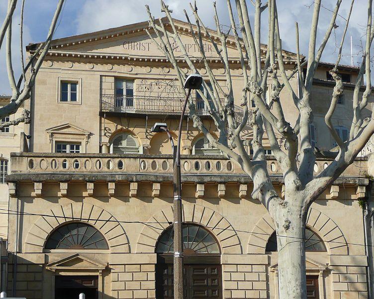 Photo du Monument Historique Temple Protestant situé à Arles