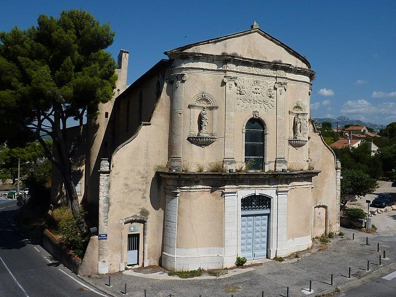 Photo du Monument Historique Chapelle des Pénitents Blancs situé à Aubagne