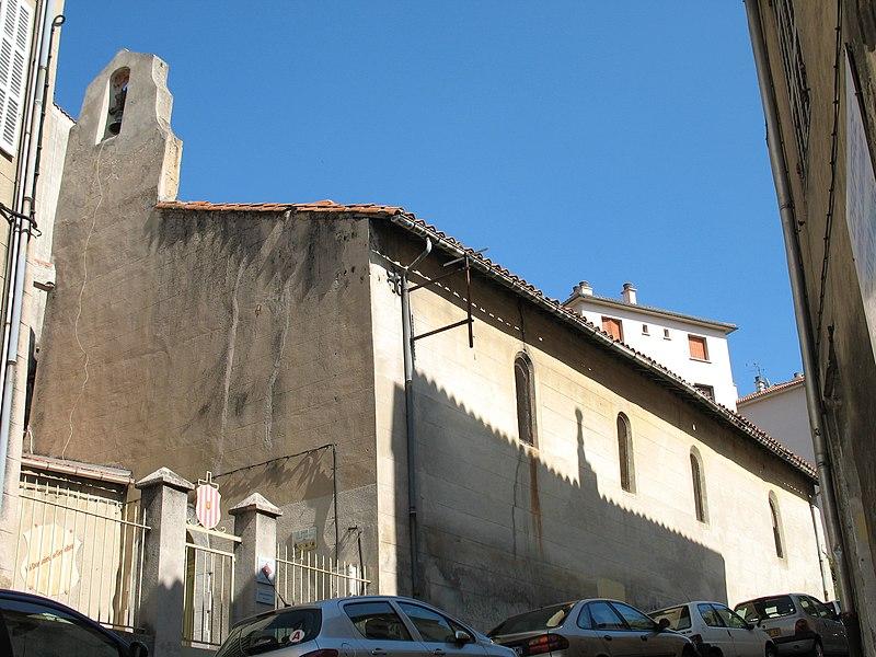 Photo du Monument Historique Chapelle des Pénitents Gris situé à Aubagne