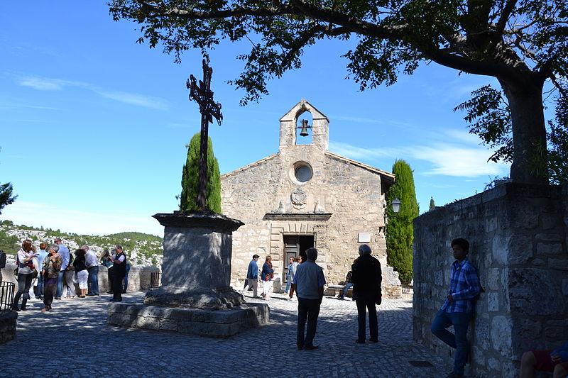 Photo du Monument Historique Chapelle des Pénitents Blancs (ou chapelle Sainte-Estelle) situé à Baux-de-Provence (Les)