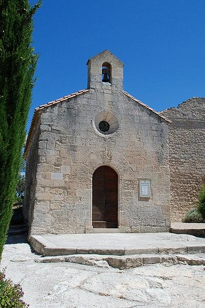 Photo du Monument Historique Chapelle Saint-Blaise situé à Baux-de-Provence (Les)