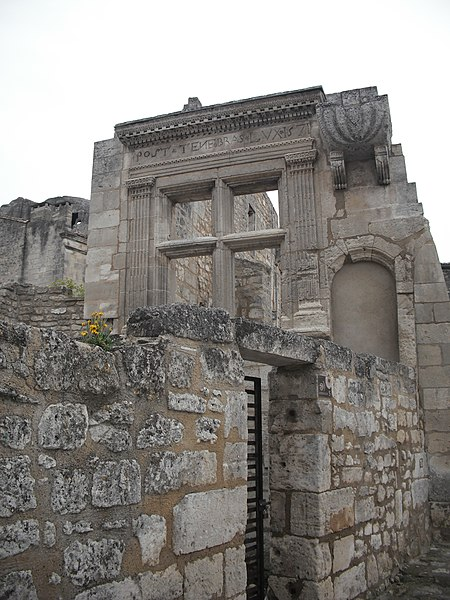 Photo du Monument Historique Hôtel de Manville situé à Baux-de-Provence (Les)