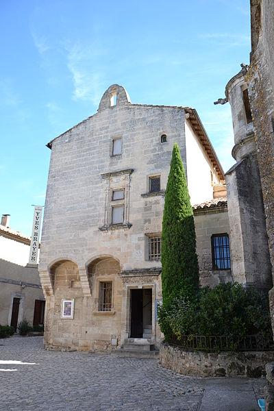 Photo du Monument Historique Hôtel des Porcelets situé à Baux-de-Provence (Les)