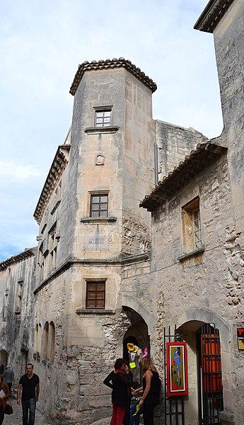 Photo du Monument Historique Immeuble dit Maison Jean de Brion situé à Baux-de-Provence (Les)