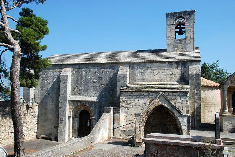 Photo du Monument Historique Chapelle de Saint-Marcellin situé à Boulbon