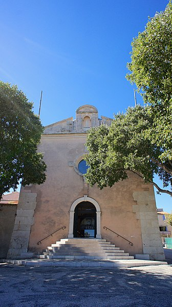 Photo du Monument Historique Chapelle des Pénitents Bleus situé à La Ciotat