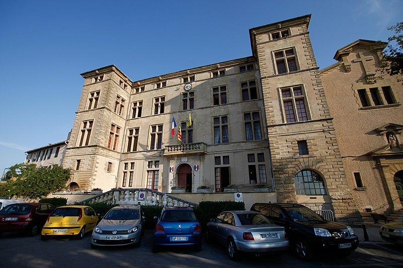 Photo du Monument Historique Château situé à Eguilles