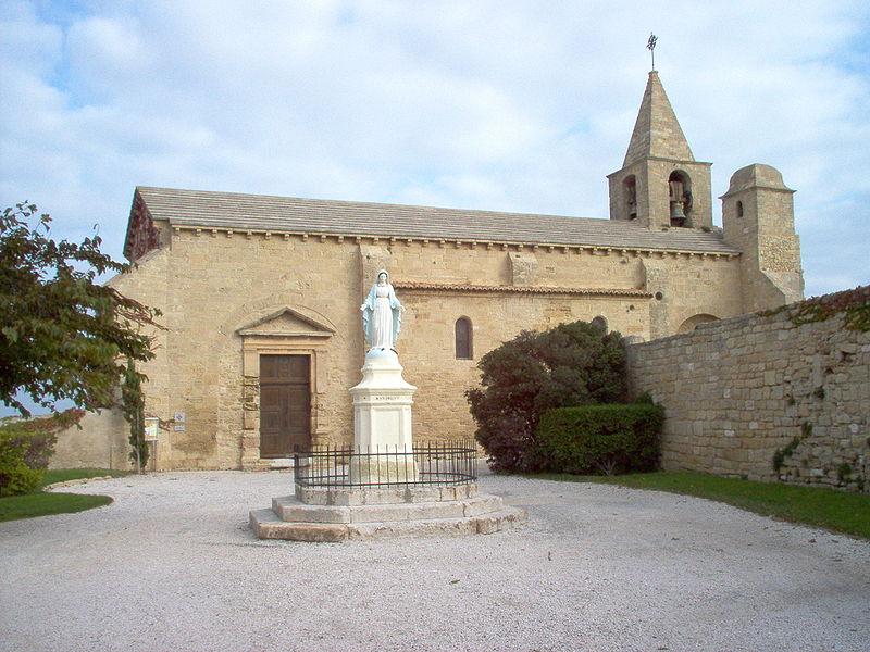 Photo du Monument Historique Eglise Saint-Sauveur situé à Fos-sur-Mer