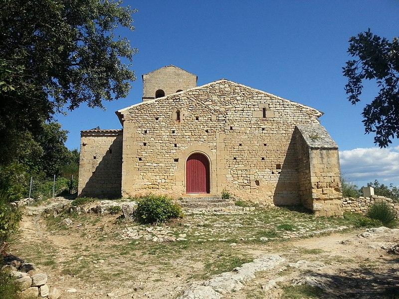 Photo du Monument Historique Eglise Notre-Dame de la Roque situé à Jouques
