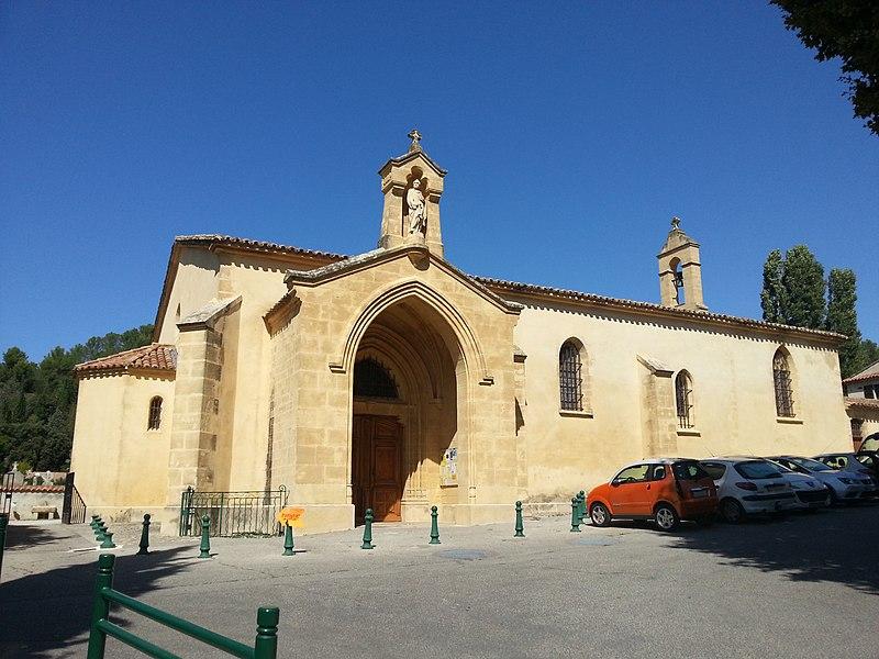 Photo du Monument Historique Eglise paroissiale Saint-Pierre situé à Jouques