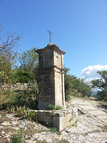 Photo du Monument Historique Oratoire Notre-Dame de la Roque situé à Jouques