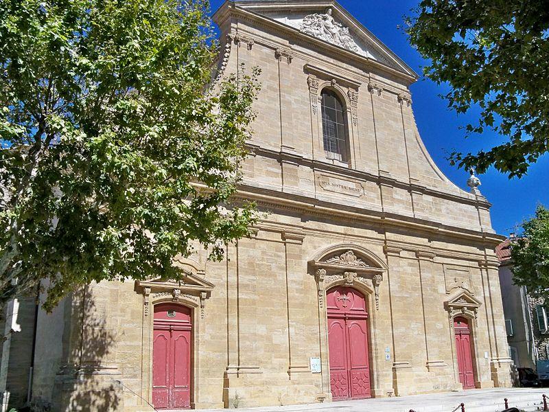 Photo du Monument Historique Eglise Notre-Dame de l'Assomption situé à Lambesc
