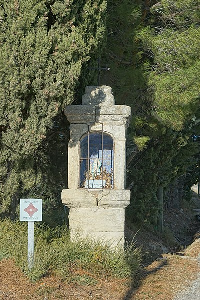 Photo du Monument Historique Oratoire Sainte-Anne situé à Lambesc