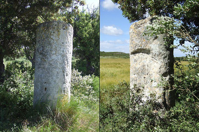 Photo du Monument Historique Borne milliaire romaine situé à Lançon-Provence