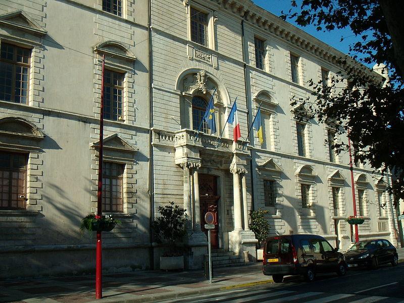Photo du Monument Historique Ancien château des Covet de Marignane, actuel hôtel de ville situé à Marignane