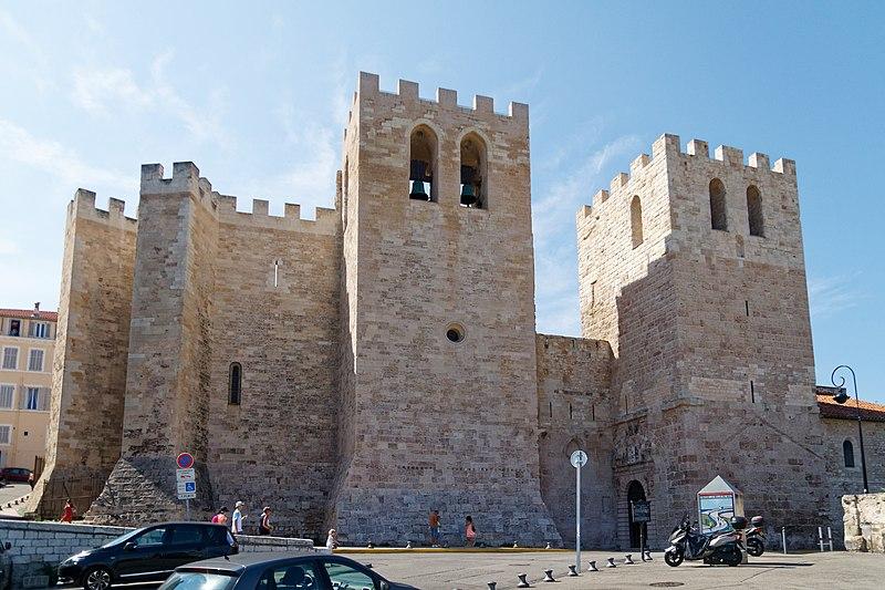 Photo du Monument Historique Abbaye Saint-Victor situé à Marseille