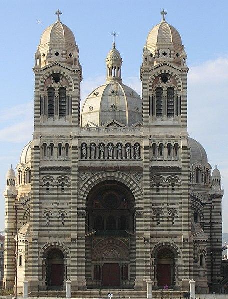 Photo du Monument Historique Cathédrale Sainte-Marie-Majeure, dite Nouvelle Major situé à Marseille