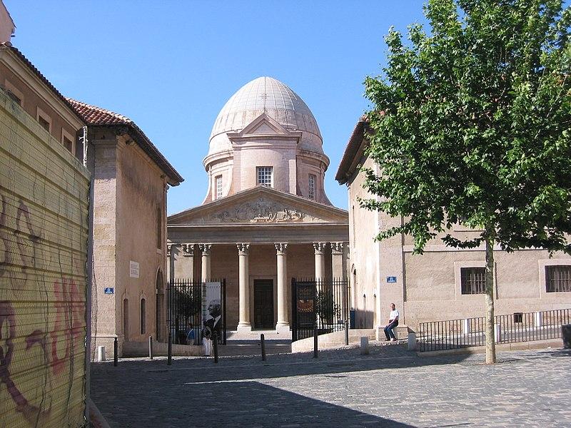 Photo du Monument Historique Chapelle et hospice de la Vieille Charité situé à Marseille
