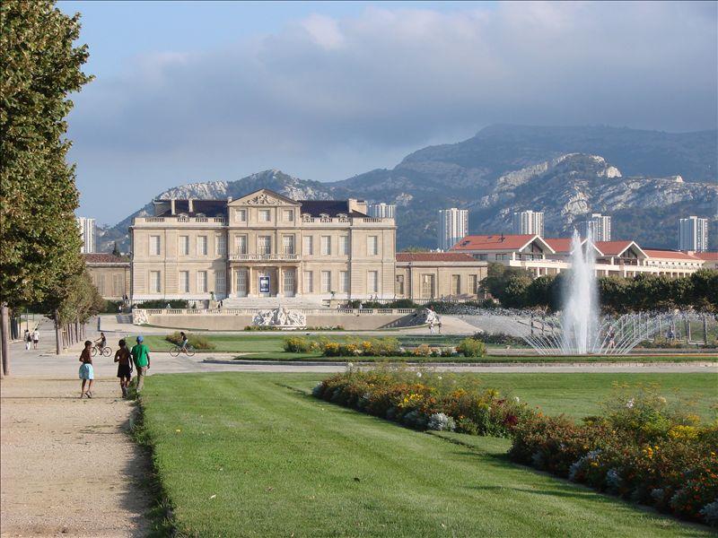 Photo du Monument Historique Château Borély situé à Marseille
