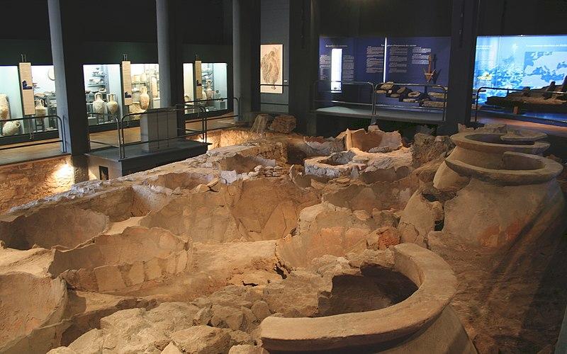 Photo du Monument Historique Vestiges des docks romains situé à Marseille
