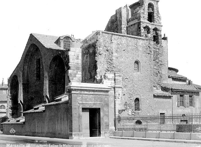 Photo du Monument Historique Eglise de la vieille Major (ancienne cathédrale) situé à Marseille