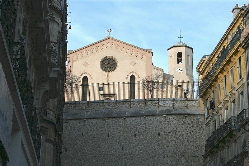 Photo du Monument Historique Eglise Notre-Dame du Mont-Carmel ou des Grands-Carmes situé à Marseille