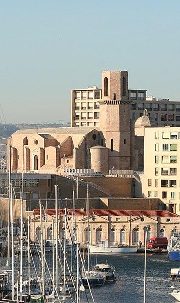 Photo du Monument Historique Eglise et baptistère Saint-Laurent situé à Marseille