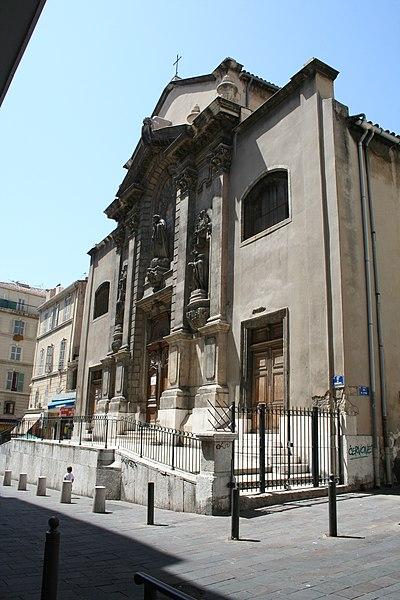 Photo du Monument Historique Eglise Saint-Théodore ou église de l'ancien couvent des Récollets situé à Marseille