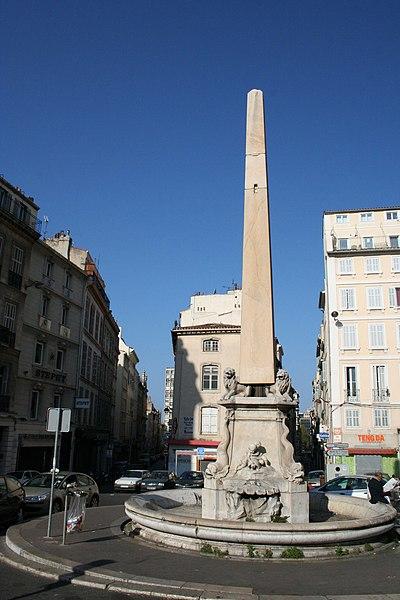 Photo du Monument Historique Fontaine Fossati situé à Marseille