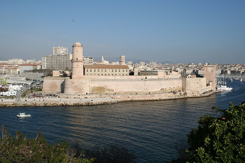 Photo du Monument Historique Fort Saint-Jean situé à Marseille