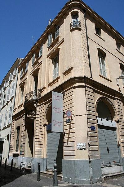 Photo du Monument Historique Hôtel Hubaud situé à Marseille
