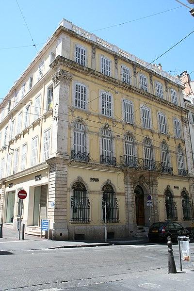 Photo du Monument Historique Hôtel Pascal situé à Marseille