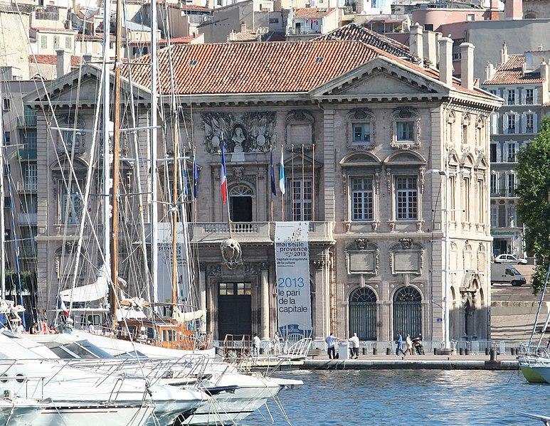 Photo du Monument Historique Hôtel de ville situé à Marseille