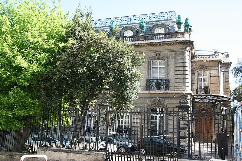 Photo du Monument Historique Immeuble situé à Marseille 8e arrondissement