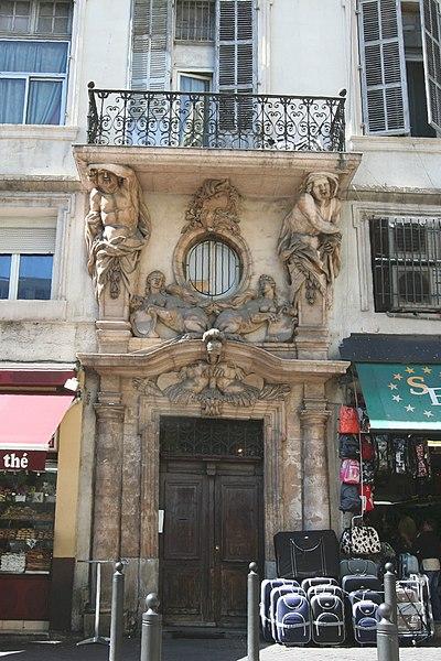 Photo du Monument Historique Maison situé à Marseille