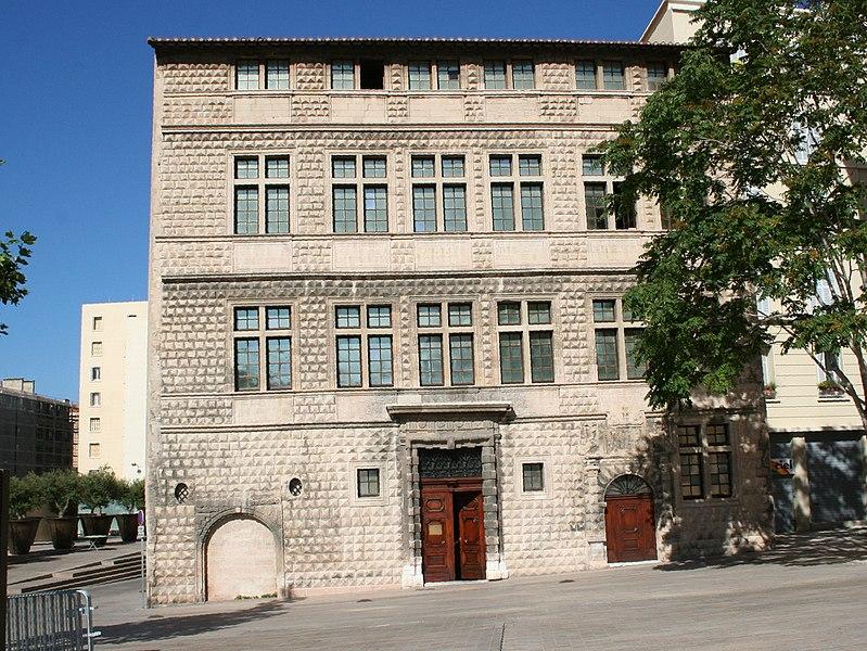 Photo du Monument Historique Maison dite Maison Diamantée, actuellement musée du Vieux Marseille situé à Marseille