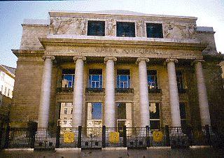 Photo du Monument Historique Opéra municipal situé à Marseille