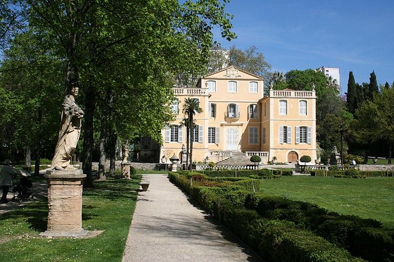 Photo du Monument Historique Villa Magalone situé à Marseille