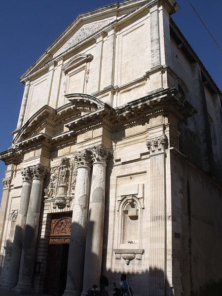 Photo du Monument Historique Eglise Sainte-Madeleine de l'Ile situé à Martigues