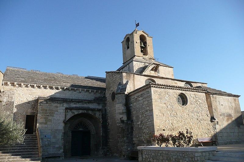 Photo du Monument Historique Eglise paroissiale Saint-Baudile situé à Noves