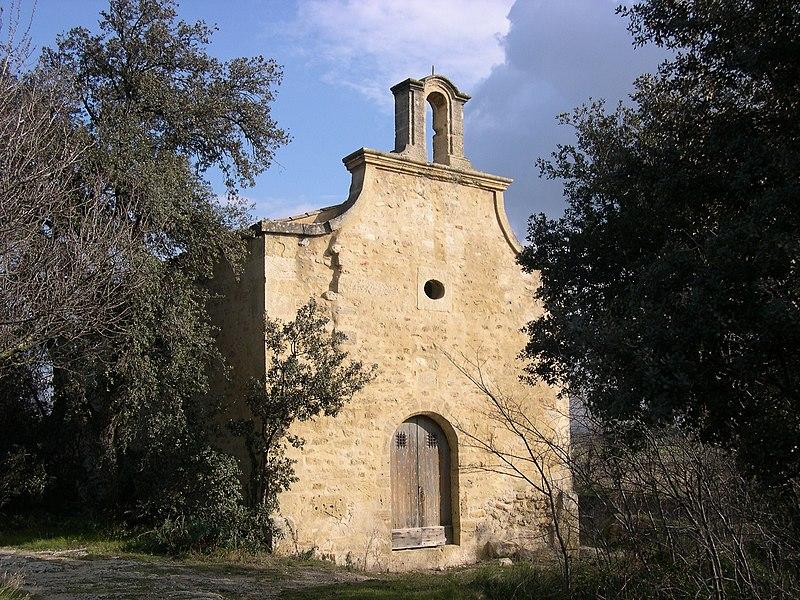 Photo du Monument Historique Chapelle Saint-Laurent et les vestiges attenants sis dans les parcelles situé à Pélissanne