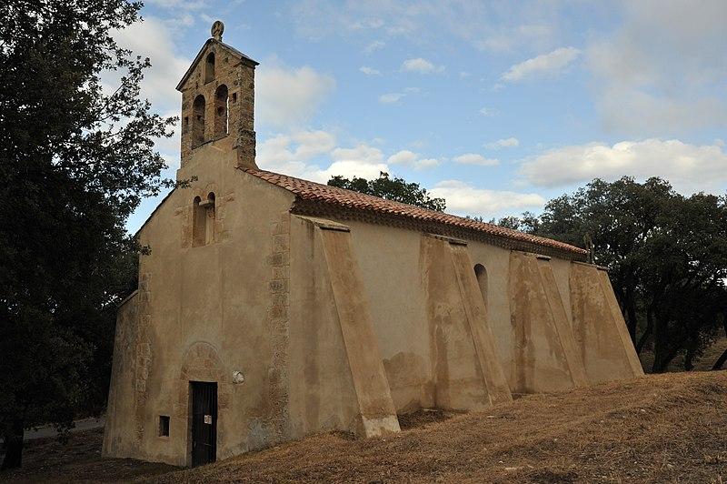 Photo du Monument Historique Chapelle Notre-Dame d'Ertor (ou d'Astors) situé à Peyrolles-en-Provence