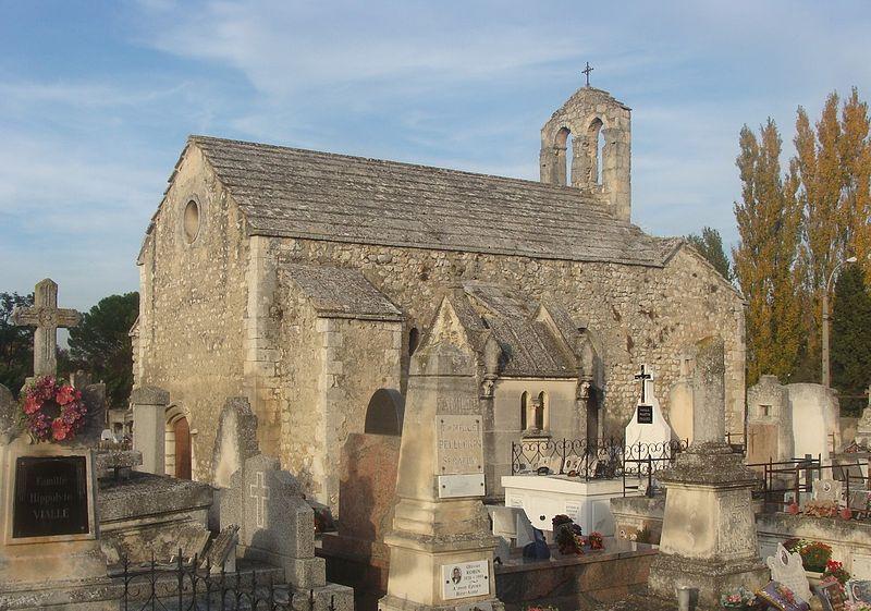 Photo du Monument Historique Chapelle Sainte-Croix situé à Saint-Andiol